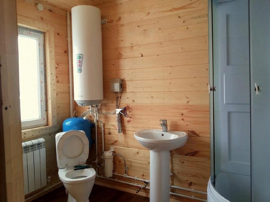 Как сделать санузел в частном доме фото